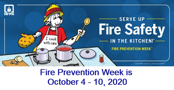 Serve Up Fire Safety in the Kitchen - Fire Prevention Week