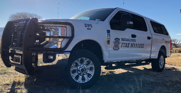 DPS - Nevada State Fire Marshal Truck